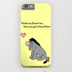 Eeyore weeds iPhone 6 Slim Case