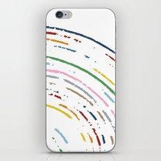Rainbow Part Disc iPhone & iPod Skin