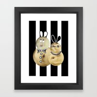 couple3 Framed Art Print