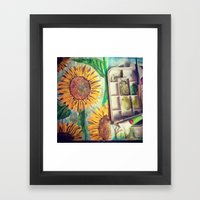Paint a Brighter Day Framed Art Print