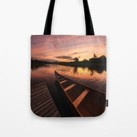 Mersey River Glow Tote Bag