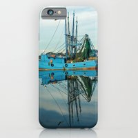 iPhone & iPod Case featuring Boat Reflection by Joanna  Pickelsimer