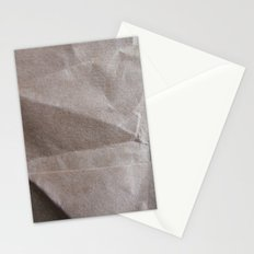 Brown bagging it. Stationery Cards