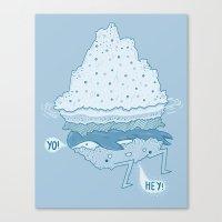 Iceburger Canvas Print