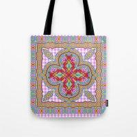 Mix&Match;  Pretty Pink Mandala Meditation pillow 01 Tote Bag