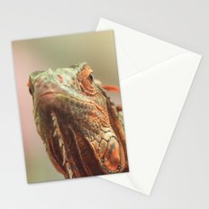 Chameleon an exotic beautiful animal Stationery Cards