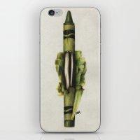 To The Core: Green iPhone & iPod Skin