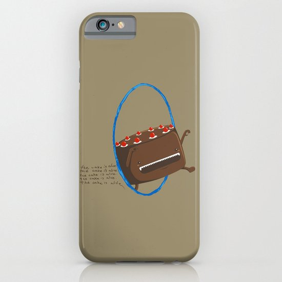 The Cake is Alive iPhone & iPod Case