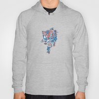 Close-Mouth Grin on a Gap Tooth Brain Freeze Hoody