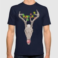 rudolph Mens Fitted Tee Navy SMALL