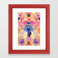Blissful Birds Framed Art Print