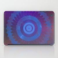 Technicolor Cosmos Blue iPad Case