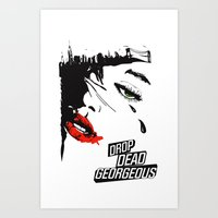 Drop Dead Gorgeous - Fem… Art Print