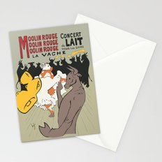 Moolin Rouge - This Cow Can Can Can Stationery Cards
