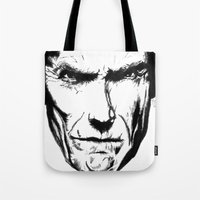 Clint Eastwood Tote Bag
