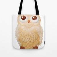 Owl Collage #5 Tote Bag