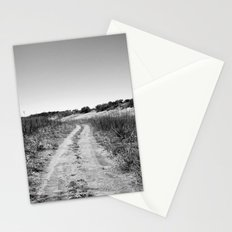 texas road Stationery Cards