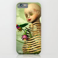 iPhone & iPod Case featuring The Open Cage by Teodoru Badiu