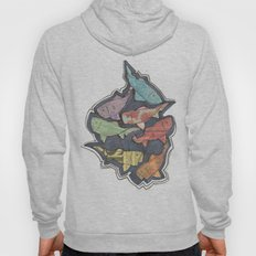 Newspaper Fish Hoody