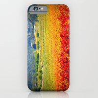 iPhone & iPod Case featuring autumn vineyard by Krista Glavich