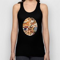 Glitch Pin-Up Redux: Nat… Unisex Tank Top
