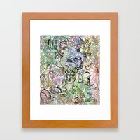 Anymanimals+Whatlifethr… Framed Art Print