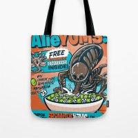 AlieYUMS! (orange variant) Tote Bag