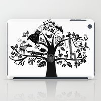 :) Animals On Tree iPad Case