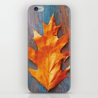 Little Autumn Acorns iPhone & iPod Skin
