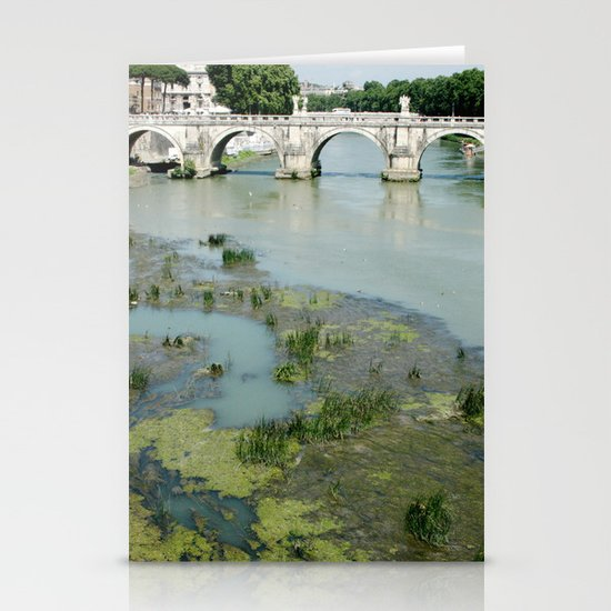 Ponte Sant'Angelo Stationery Card