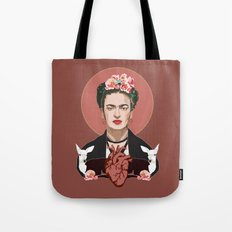 Frida Kahlo (Dark) Tote Bag