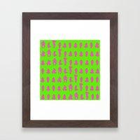 Dip & Come Up - Lime Jui… Framed Art Print