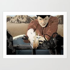 The Mechanic Art Print