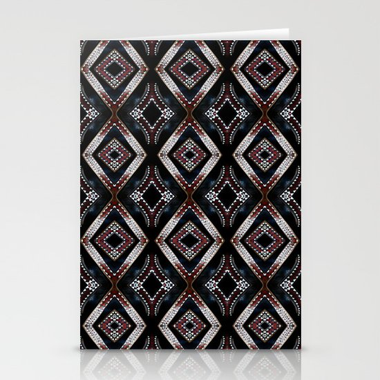 Pacific carve Stationery Card