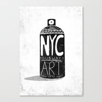 NYC 1972 Canvas Print
