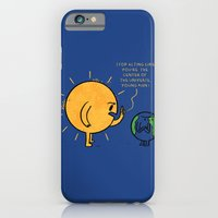 You Are Not The Center Of The Universe, Young Man ! iPhone 6 Slim Case