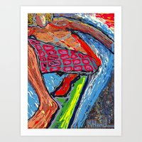 Tasty Waves Art Print