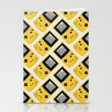 Gameboy Color: Yellow (Pattern) Stationery Cards