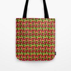 Woven Pixels VI Tote Bag