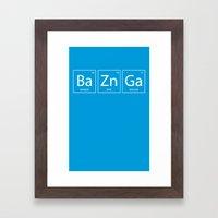 Bazinga Framed Art Print
