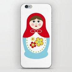 Matryoshka Doll 1 iPhone & iPod Skin