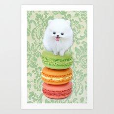 Mt. Macarone Art Print