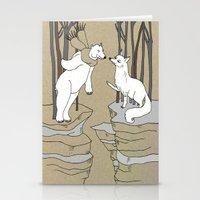Arctic Fox And Polar Bea… Stationery Cards