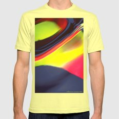 Twister Mens Fitted Tee Lemon SMALL