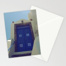 Santorini Door VII Stationery Cards