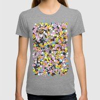 Lots Of Liquorice Allsor… Womens Fitted Tee Tri-Grey SMALL