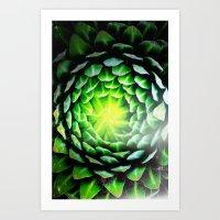 Fat plant Art Print