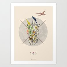 ANTROPOAMORFICO - Love: the pause that refreshes Art Print