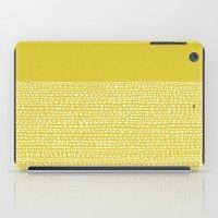 Riverside(Yellow) iPad Case