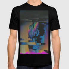 Bismuth Crystal SMALL Mens Fitted Tee Black